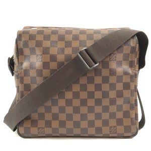 Shoulder Naviglio Damier Ébène Messenger Bag